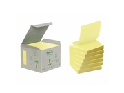 Notes Z-block POST-IT 100% recy. gul6/FP