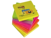 Notes POST-IT Z-block 76x76mm rainbow
