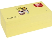 Notes POST-IT Super Sticky 76x76mm gul
