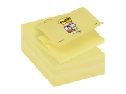 POST-IT SuperSticky Z-bl 76x127mm gul