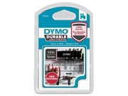 Tape DYMO Durable D1 12mm Vit på Svart