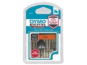 Tape DYMO Durable D1 12mm Svart på Ora.