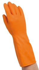 Versatouch Latexhandske Orange S