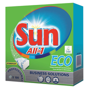 Sun Maskindisk All in 1 ECO Tabs 100-p