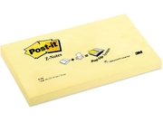 Notes POST-IT Z-block 76x127mm gul